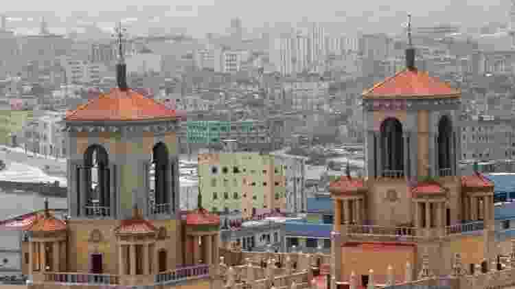 Havana, em Cuba, registrou presença de poeira do Saara em 24 de junho - EPA - EPA
