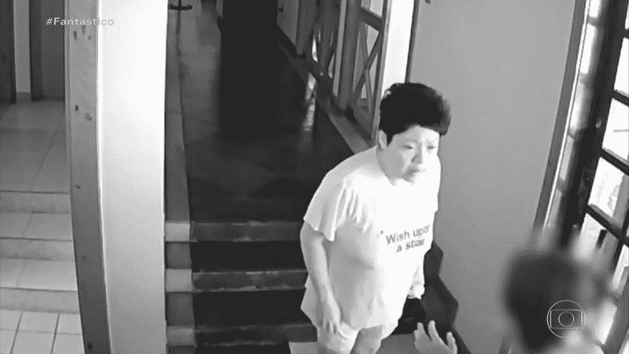 Fantástico: Embaixadora das Filipinas no Brasil, Marichu B. Mauro, foi filmada agredindo empregada - reprodução/TV Globo