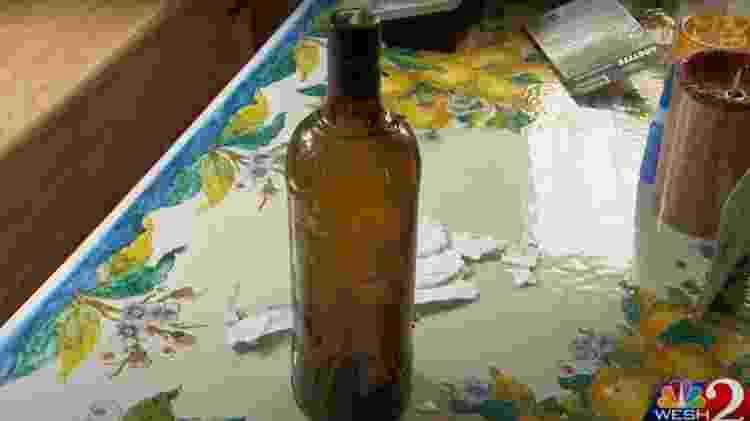 garrafa - Reprodução/WESH 2 News - Reprodução/WESH 2 News