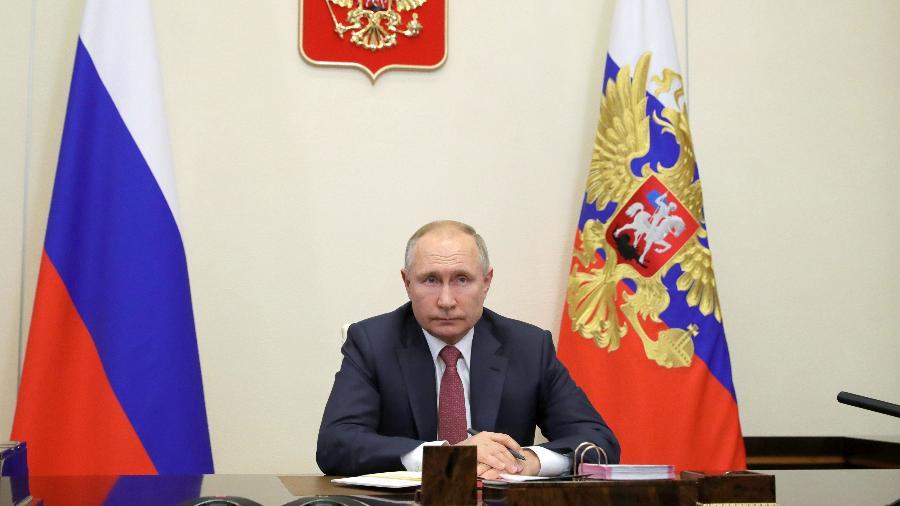 Os países querem que a Rússia retire suas tropas da fronteira com a Ucrânia - Mikhail Klimentyev/TASS via Getty Images
