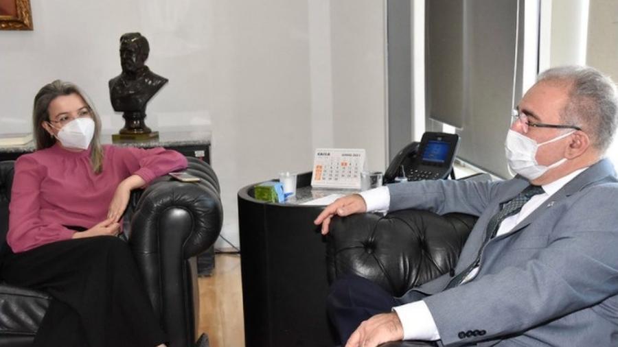 A médica Rosana Leite de Melo foi nomeada para cargo no Ministério da Saúde - Divulgação / HRMS