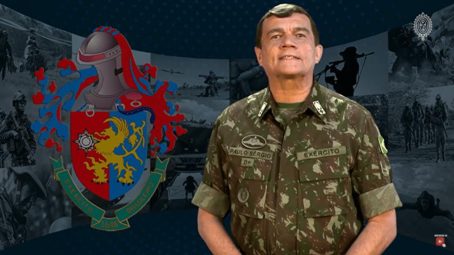 O Comandante do Exército, general Paulo Sérgio Nogueira de Oliveira - Reprodução/Youtube/Exército