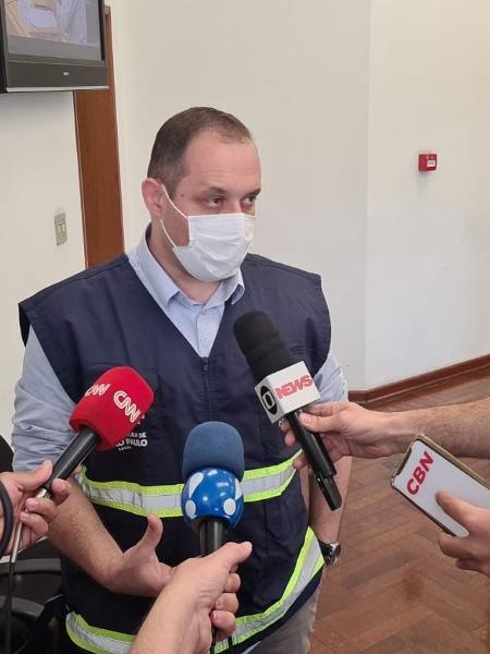 Luiz Artur Vieira Caldeira, coordenador da Covisa, foi o primeiro a ser ouvido na CPI da Câmara Municipal de São Paulo - Leonardo Martins/UOL