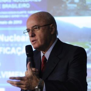 Othon Luiz Pinheiro da Silva, então presidente da Eletronuclear