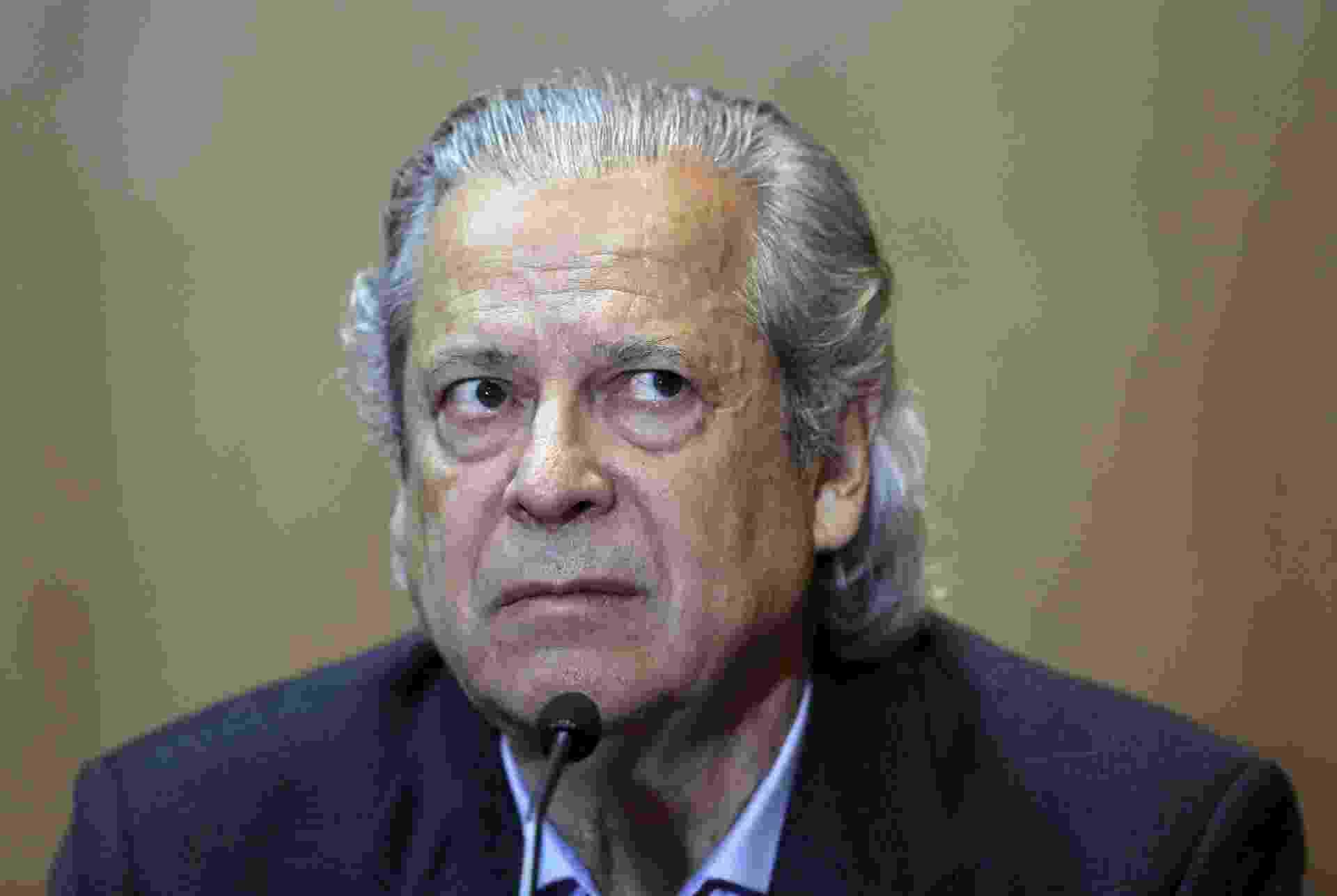 Jose Dirceu silencia na PF e na CPI da Petrobras - Heuler Andrey/AFP