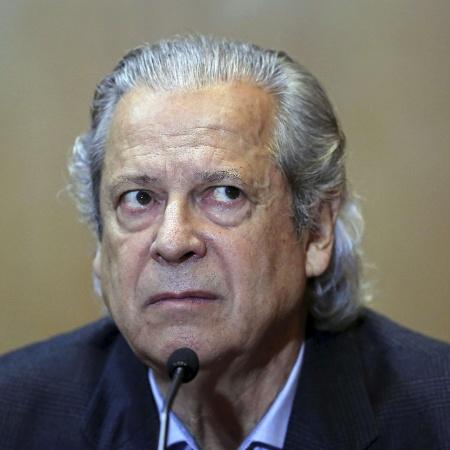 Jose Dirceu silencia na CPI da Petrobras, em 2015 - Heuler Andrey/AFP