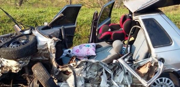 Acidente na rodovia Marechal Rondon em Botucatu (SP)