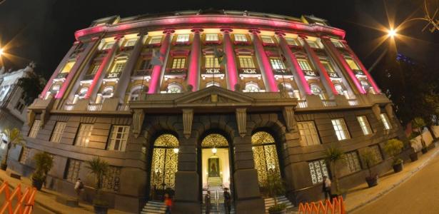 Fachada do Palácio de Justiça do Rio, Estado que concentra maior número absoluto de supersalários entre os Judiciários estaduais