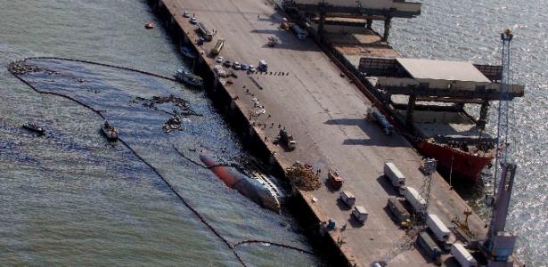 O návio Haidar adernou no porto de Vila do Conde (PA) com cerca de 5 mil bois vivos no início de outubro - Sidney Oliveira/Agência Pará