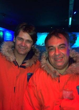 André Alliana (à esquerda) foi assessor do ex-deputado petista André Vargas, preso na Operação Lava Jato