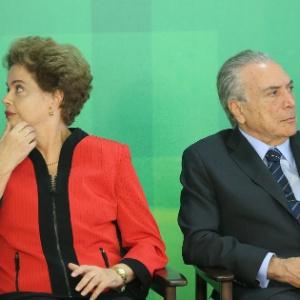 Dilma Rousseff e Michel Temer, que um dia já foram aliados