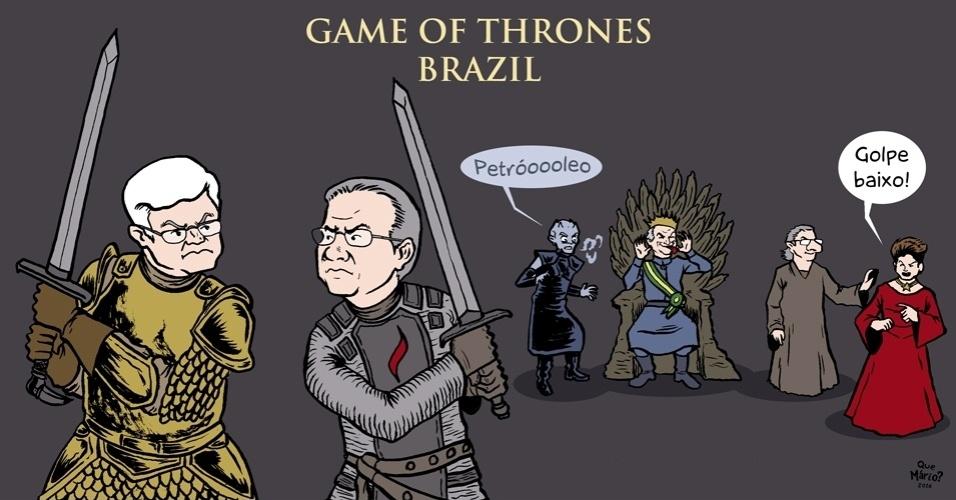 29.jun.2016- Tá todo mundo ansioso pelos próximos capítulos do Game of Thrones brasileiro