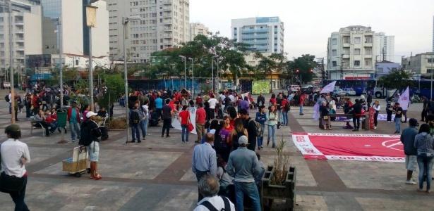 PM informa trajeto para manifestação contra Temer - Divulgação/Polícia Militar de São Paulo