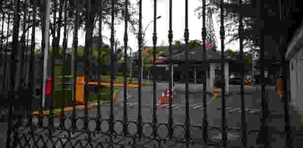 Condomínio Park Palace, na Barra da Tijuca, zona oeste do Rio, onde o ex-deputado federal Eduardo Cunha tem casa - Júlio César Guimarães 19.10.2016/UOL
