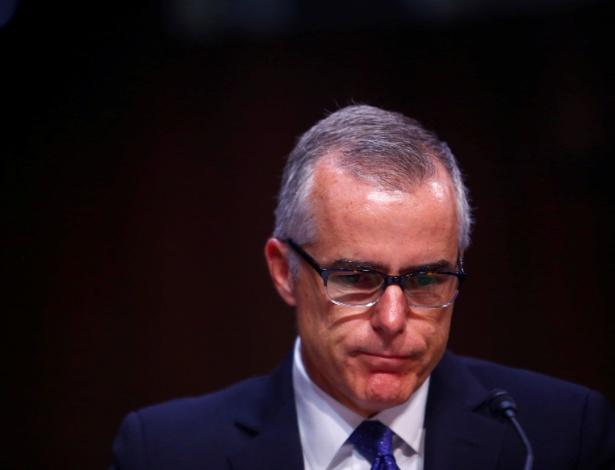O ex-vice-diretor do FBI, Andrew McCabe