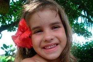 Isabella Nardoni tinha apenas 5 anos quando foi morta pelo pai e madrasta - Reprodução