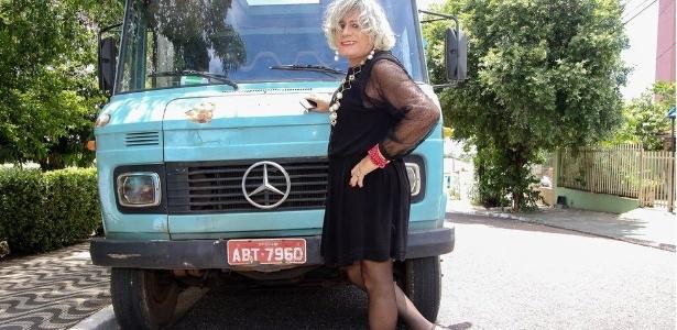 Há seis meses, ela pede para ser chamada pelo nome feminino, escolhido em homenagem à deusa grega Afrodite - Alair Ribeiro/BBC Brasil