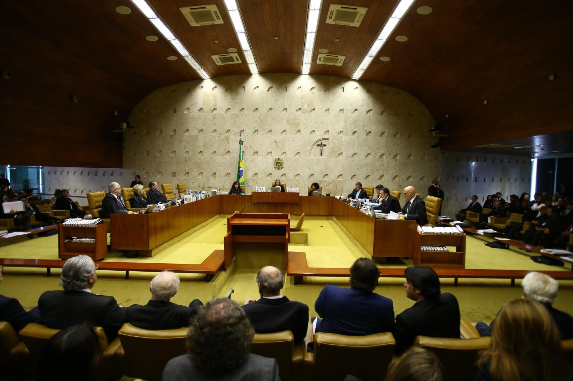 04076e54e63 STF aprova reajuste de 16% para ministros da Corte em 2019  aumento será  votado no Congresso - 08 08 2018 - UOL Notícias