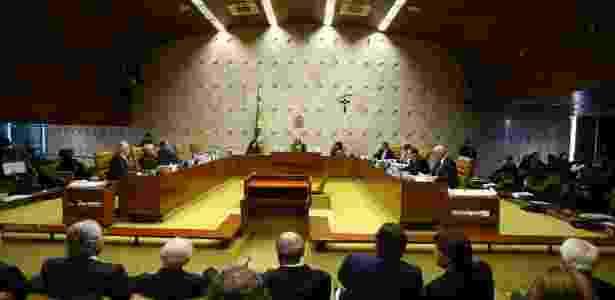 Plenário do STF negou pedido de habeas corpus para o ex-presidente Lula - Dida Sampaio/Estadão Conteúdo