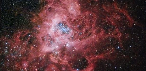 Nebulosa NGC 604: exemplo de ambiente em que o Sol pode ter nascido