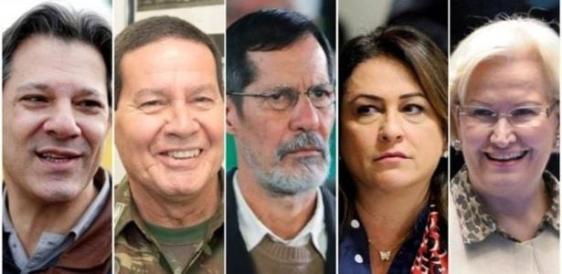 Candidatos a vice-presidente da República em 2018