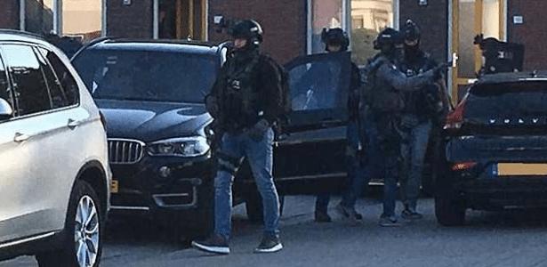 Polícia holandesa afirmou ter prendido um grupo que planejava um grande ataque terrorista no país - Reprodução/Twiter
