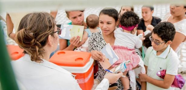 Atendimento de saúde no município de Chã Preta, em Alagoas - Reprodução Facebook