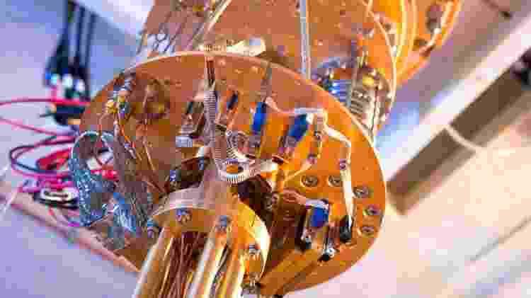 Computador quântico da Microsoft - Divulgação/Microsoft - Divulgação/Microsoft