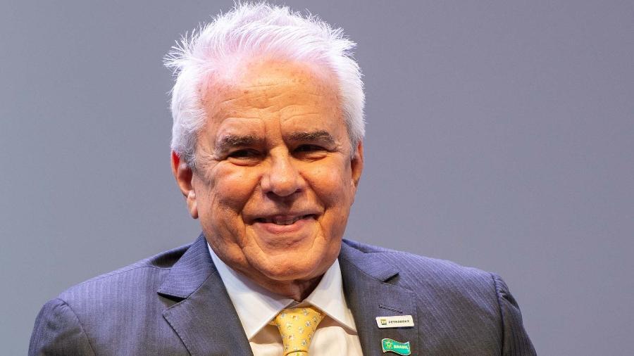 Roberto Castello Branco em cerimônia de posse como presidente da Petrobras - Allan Carvalho/Futura Press/Estadão Conteúdo