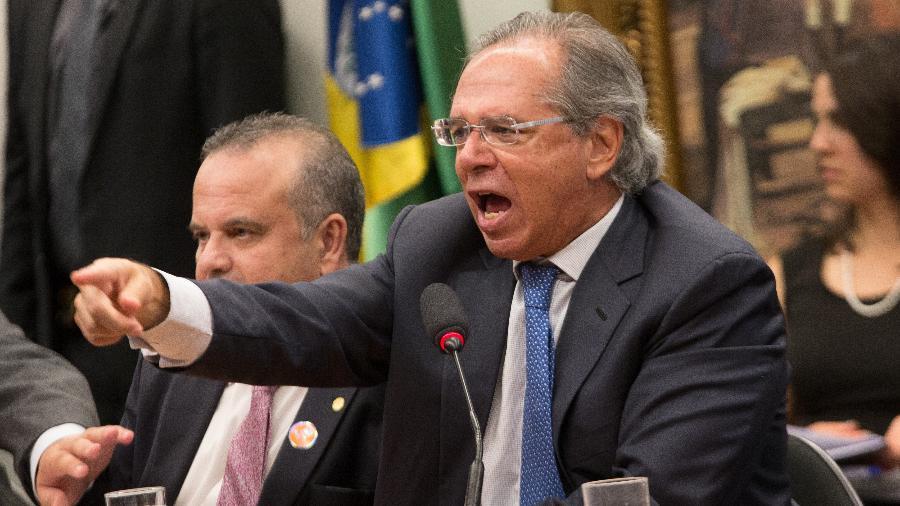"""""""O sentimento é bom, é de que o Congresso fez um bom trabalho"""", disse ministro da Economia - André Coelho/Estadão Conteúdo"""