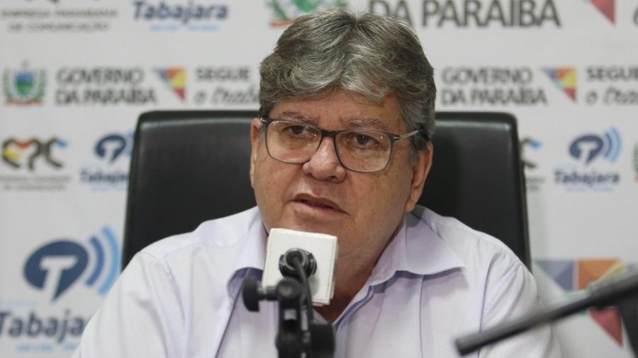 O governador da Paraíba, João Azevêdo - Francisco Franca/Secom