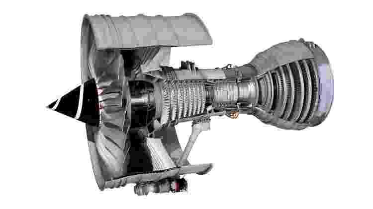 Turbina motor avião - Divulgação - Divulgação