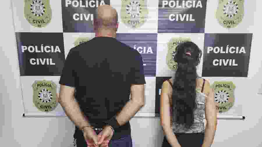 Casal é preso por torturar criança no Rio Grande do Sul - Divulgação