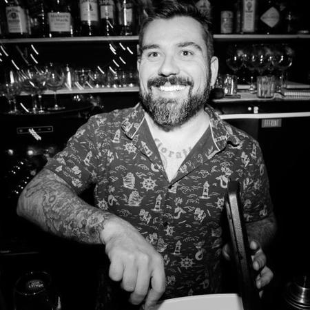 Paulo Fioratti Filho, sócio do bar FFFront, em São Paulo - Divulgação