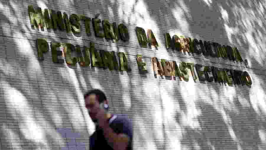 Edifício do Ministério da Agricultura, em Brasília (DF) - ADRIANO MACHADO