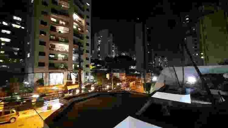 Lente grande angular do Galaxy A51 sem modo noturno - Gabriel Francisco Ribeiro/UOL - Gabriel Francisco Ribeiro/UOL
