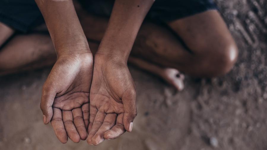 Crise econômica causada pela pandemia tem acentuado a fome no mundo - Getty Images