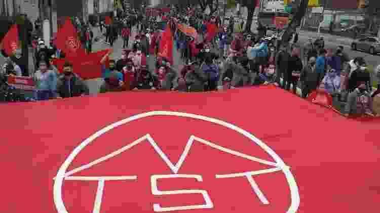 Marcha de sem-teto pede ao governo paulista o fim dos despejos durante a pandemia e mais investimento para moradia - MTST - MTST