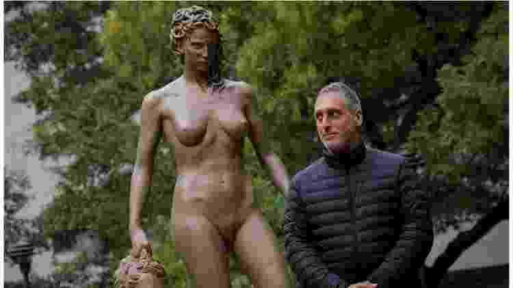 Luciano Garbati e Medusa com a Cabeça de Perseu - Reuters - Reuters