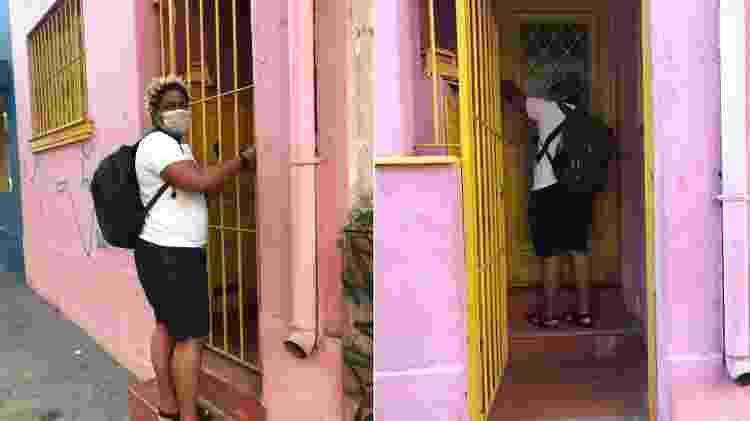 Casinha rosa, local que entrei e fiz morada em 1.650 dias da minha vida - Arquivo pessoal/ Akin Abaz - Arquivo pessoal/ Akin Abaz