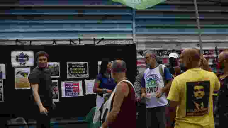 manifestação - Renato S. Cerqueira/Futura Press/Estadão Conteúdo - 13.dez.2020 - Renato S. Cerqueira/Futura Press/Estadão Conteúdo - 13.dez.2020