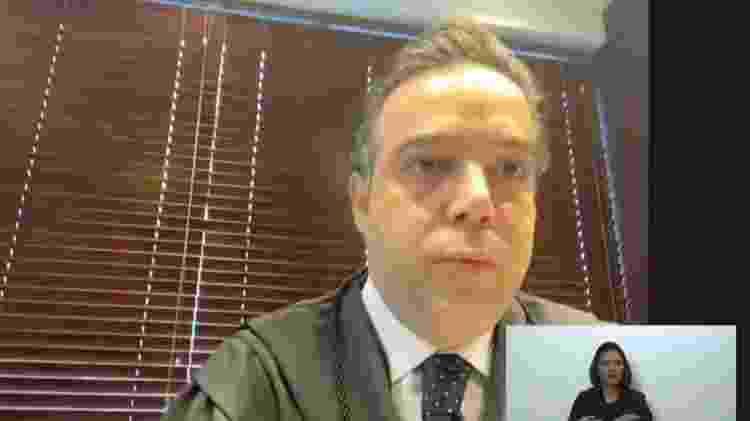 09.fev.2021 - Marcelo Knopfelmacher, advogado que representa Deltan Dallagnol durante julgamento no STF sobre mensagens da Lava Jato - Reprodução - Reprodução