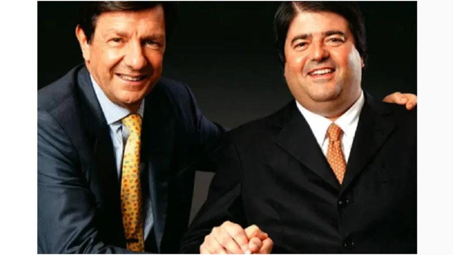 Roberto Setubal e Pedro Moreira Salles, dois dos signatários de uma contundente carta à nação. Governo já ultrapassou o limite mesmo da irresponsabilidade - Germano Lüders/EXAME.com/