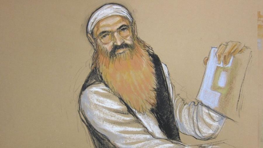 """Khalid Sheikh Mohammed (""""KSM"""") foi o """"arquiteto principal"""" dos ataques de 11 de setembro de 2001, nos EUA - Janet Hamlin/Reuters"""