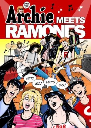 """Capa de """"Archie Meets Ramones"""" - Reprodução"""