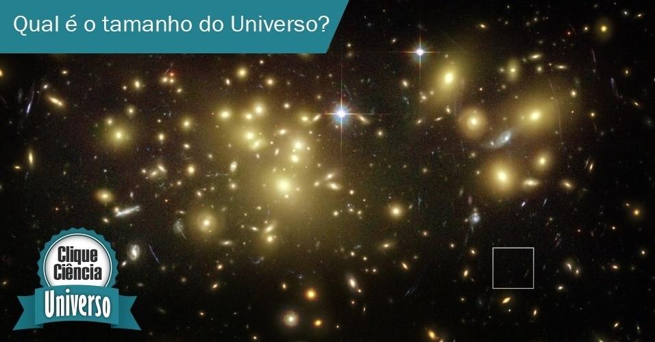 Clique Ciência: Qual é o tamanho do Universo?