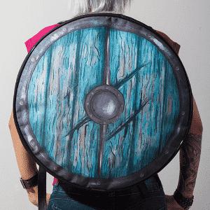Mochila The Viking's Shield, comercializada pelo site Nerd Universe - Divulgação