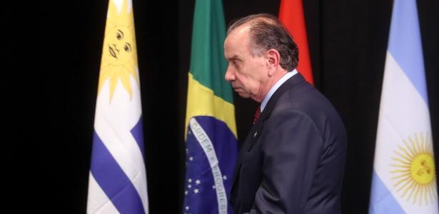 5.ago.2017 - O chanceler do Brasil, Aloysio Nunes