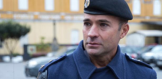 O tenente coronel Mello Araújo, novo comandante da Rota