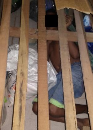 Menino de 13 anos foi encontrado dentro de um alojamento em uma Colônia Penal no Piauí